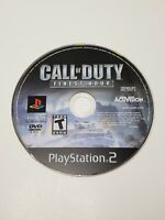 Call of Duty Finest Hour (PlayStation 2 PS2) - DISC ONLY -