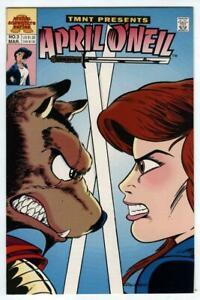 TMNT Presents April O'Neil #3 1993-Teenage Mutant Ninja Turtles Archie Adventure