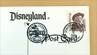 Disneyland Vintage Postcard Mickey 60th Birthday Commemorative Cancel - You Pick
