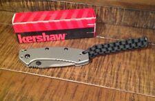 BRAND NEW Keyshaw Cryo Knife with Paracord Lanyard