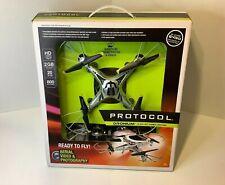 NIB Protocol Dronium 4 CH RC Video Drone HD Camera