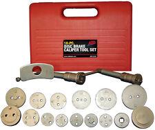 ATD 18pc Disc Brake Screw-in Caliper Tool Set fits most Domestic & Imports #5165