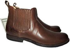 Frye Phillip Chelsea Short Boots Ankle Flat Blrown Booties Riding Shoe  8.5