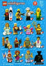 (Free Express Post) LEGO 71018 SERIES 17 MINIFIGURES Complete Set of 16 NEW