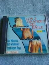 LOS 3 GRANDES DEL BAILE LOS HISPANOS GRADUADOS GOLDEN BOYS CD