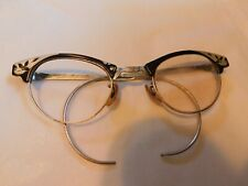 Vintage Shurun Cat Eye Glasses - 1/10 12kgf - Right Lens Missing