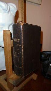 LA SACRA BIBBIA GIUSEPPE RICCIOTTI  EDIZIONE DI LUSSO