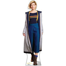 13TH DOCTOR WHO Lifesize CARDBOARD CUTOUT Standup Standee Poster Jodie Whittaker