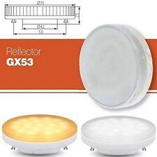 Gx53 Led 240v Light Warm Cool White Bulb Kitchen Replacement Cfl 5w 6w 9w 7w 13w
