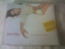 JENNIFER LOPEZ - IF YOU HAD MY LOVE - UK CD SINGLE & POSTER