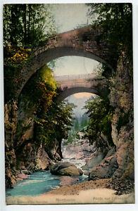 CPA Suisse Mittelland Montbovon Ponts sur l'Hongrin