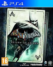 BATMAN RETURN TO ARKHAM EN CASTELLANO ESPAÑOL CITY ASYLUM NUEVO PRECINTADO PS4