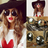 Women Accessories Steampunk Sunglasses Round Glasses Vintage Retro Style Blinder