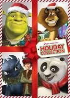 4 DVD SET-KUNG FU PANDA HOLIDAY/DRAGONS HOLIDAY/MERRY MADAGASCAR/SHREK THE HALLS