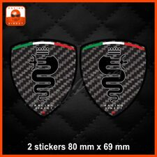 Carbon look ALFA ROMEO sticker decal aufkleber adesivo Mito Giulietta 147 0056