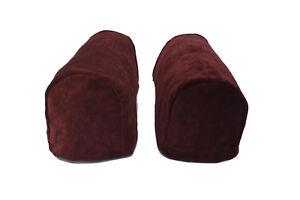 Ma-(1Pair+head cover) Chenille Loveseat Sofa Round Arm Caps Cover Antimacassar