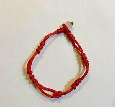 3 pc lot Macrame Chinese Red String Good Luck Friendship Bracelet