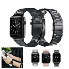 Stainless Steel Wrist Band Strap for Apple Watch Series 5 4 3 2 1 iWatch 38~44mm