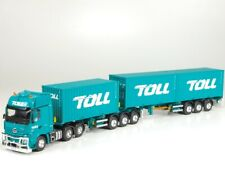 1:50 AUSTRALIAN TOLL MERCEDES B DOUBLE 3 X 20' CONTAINERS - NEW!!!!
