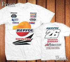 Dani Pedrosa New 2014 MotoGP Team 100% Cotton Personalized T-Shirt