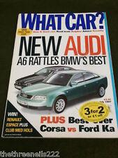 WHAT CAR? - AUDI A6 - JULY 1997