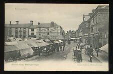 NORTHANTS Wellingborough Market Place PPC
