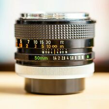 Canon FD 50mm f/1.4 Chrome Nose 1:1.4 !! Super Offre !!