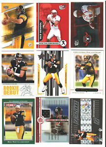 BEN ROETHLISBERGER Pick Your Favorite Rookie Refractor Jersey Pittsburgh Steelrs