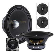 "2 Pack 10"" Midrange Speaker Orion Cobalt Mid 1500 Watts Max Power 4 Ohm 350W RMS"