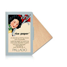 Palladio Oil Absorbing Blotting Rice Paper Tissue 40 Sheets Warm Beige Rpa8