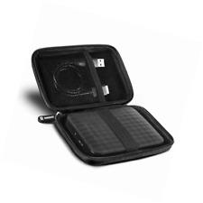Duronic HDC2 Small Eva Carry Case for External Portable Hard Drive - Black