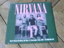 NIRVANA Pat o brian pavillion Radio show DEL MAR 91 Lp