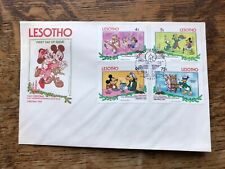 Lesotho 1983 Disney Christmas First Day Cover