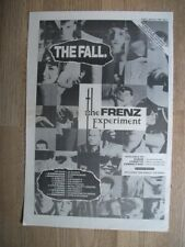 THE FALL - THE FRENZ EXPERIMENT - 1988  poster press advert 15 x 11 ins WALL ART
