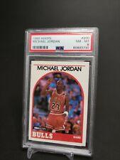 MICHAEL JORDAN 1989-90 Hoops #200 PSA NM-MT 8 Bulls, Wizards