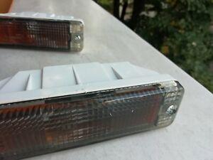 Vw Golf Jetta Mk1 Mk2 Rabbit Smoked Bumper Indicator Repeater Turn Signals Pair