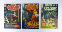 TOWER OF SHADOWS #1,4,6 Marvel Comics Lot of 3 VG-FN/VF 1969-1970
