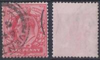 *GB*------KE VII,   1d,   red,    Used