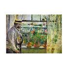 Berthe Morisot Eugene Manet On Isle Of Wight Old Master Framed Wall Art Print