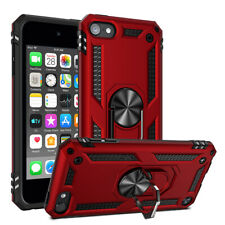 iPod Touch 5th 6th 7th Gen - HARD HYBRID HIGH IMPACT ARMOR CASE CAMO ARMY RED