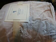 Pottery Barn Kids Sadie Ruffle bedskirt bed skirt dusty lavender twin New