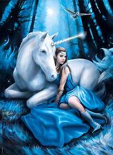 Clementoni Puzzle 1000 Teile Anne Stokes: Blue Moon (Einhorn) (39462)