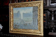 Old Impressionistic   Parisian  Painting   very lovely