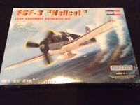 "Hobby Boss F6F-3 ""Hellcat"" Fighter Model Kit 1:72 scale NEW US military"