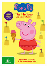 Peppa Pig: The Holiday and Other Stories  - DVD - NEW Region 4