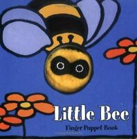 Little Bee: Finger Puppet Book (Little Finger Puppet Board Books) by Chronicle