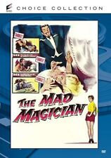 THE MAD MAGICIAN (1954 Vincent Price) Region Free DVD - Sealed