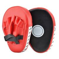 Ein Paar Kicking Palm Pads Langlebiges PU-Leder Zielfokus-Trainingshandpads