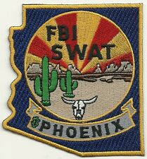 Fbi: arizona-Phoenix SWAT S.W.A.T. color Police Patch SEK policía Patch