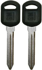 2(Pair) NEW GM Logo Key - OEM - Made In USA - FAST & FREE SHIPPING - GM LOGO KEY